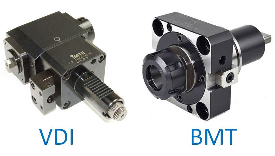 VDI vs BMT Tooling