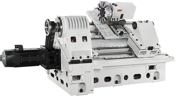 slant bed lathe with out metal shell