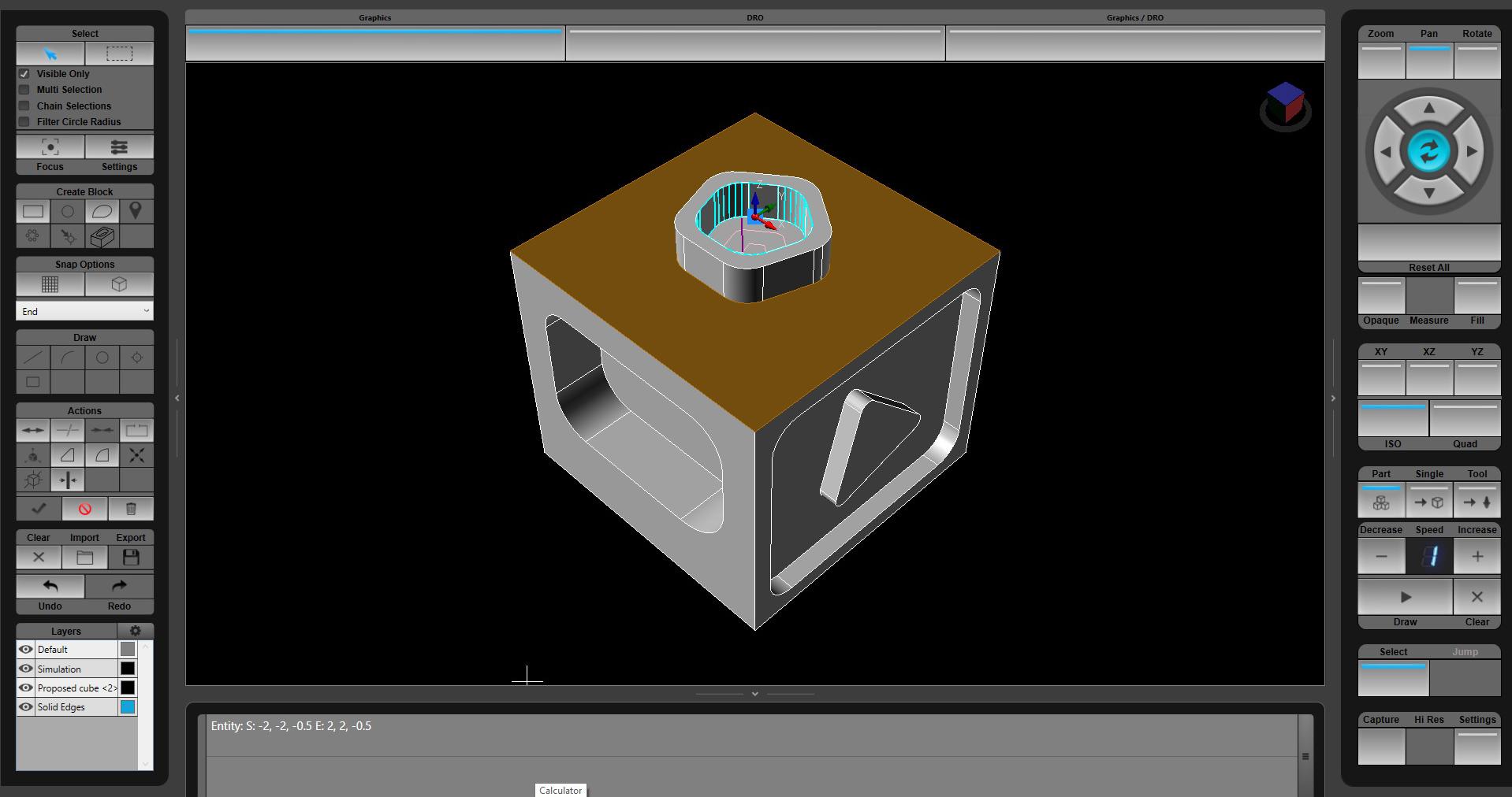 3d solid model import hurco cnc control