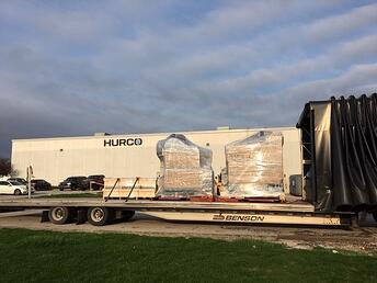 Two Hurco VM10i ship to Liberty Molds to Combat COVID-19