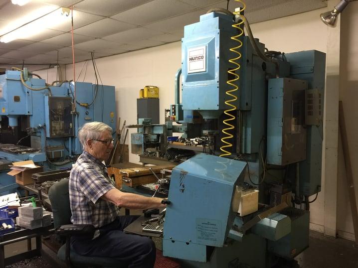 Vintage Hurco CNC Machining Center