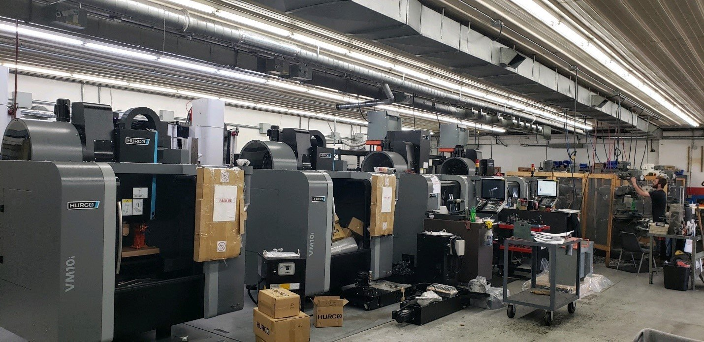 Liberty Molds Purchases 2 Hurco VM10i CNC Machines to Combat COVID-19 Pandemic