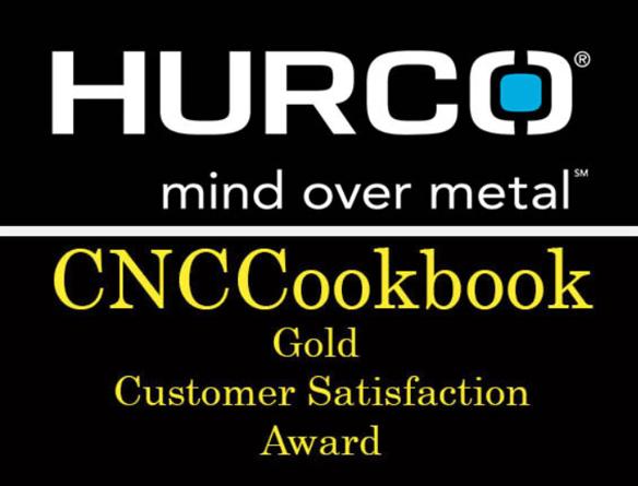 cnc cookbook gold customer satisfaction award