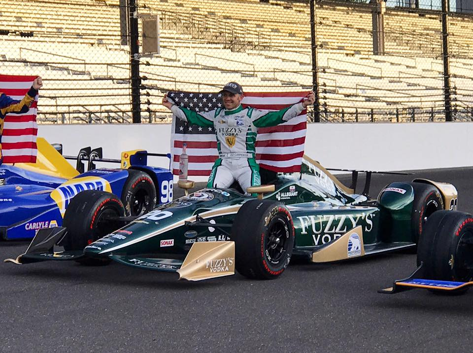 We're in full Indy 500 Prep Mode - The Hurco Car is in the FRONT ROW