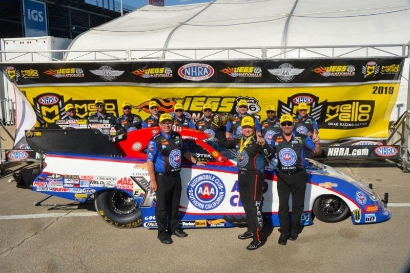 Robert Hight Races into Winner's Circle at Sonoma Raceway
