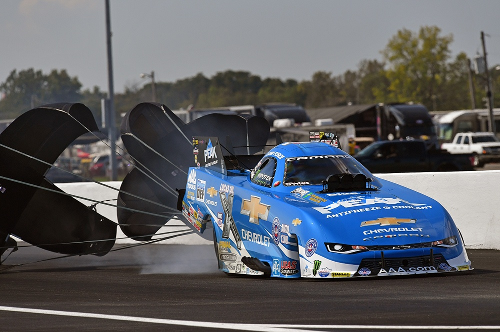 VALIANT EFFORT BY JFR AT TOUGH CHEVROLET PERFORMANCE US NATIONALS