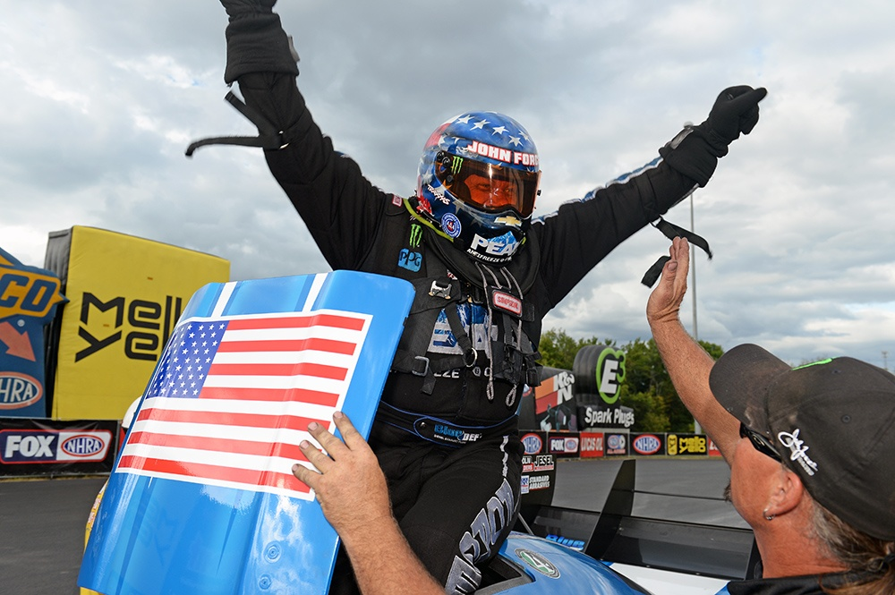 JOHN FORCE WINS CAROLINA NATIONALSMOVES TO THIRD IN POINTS