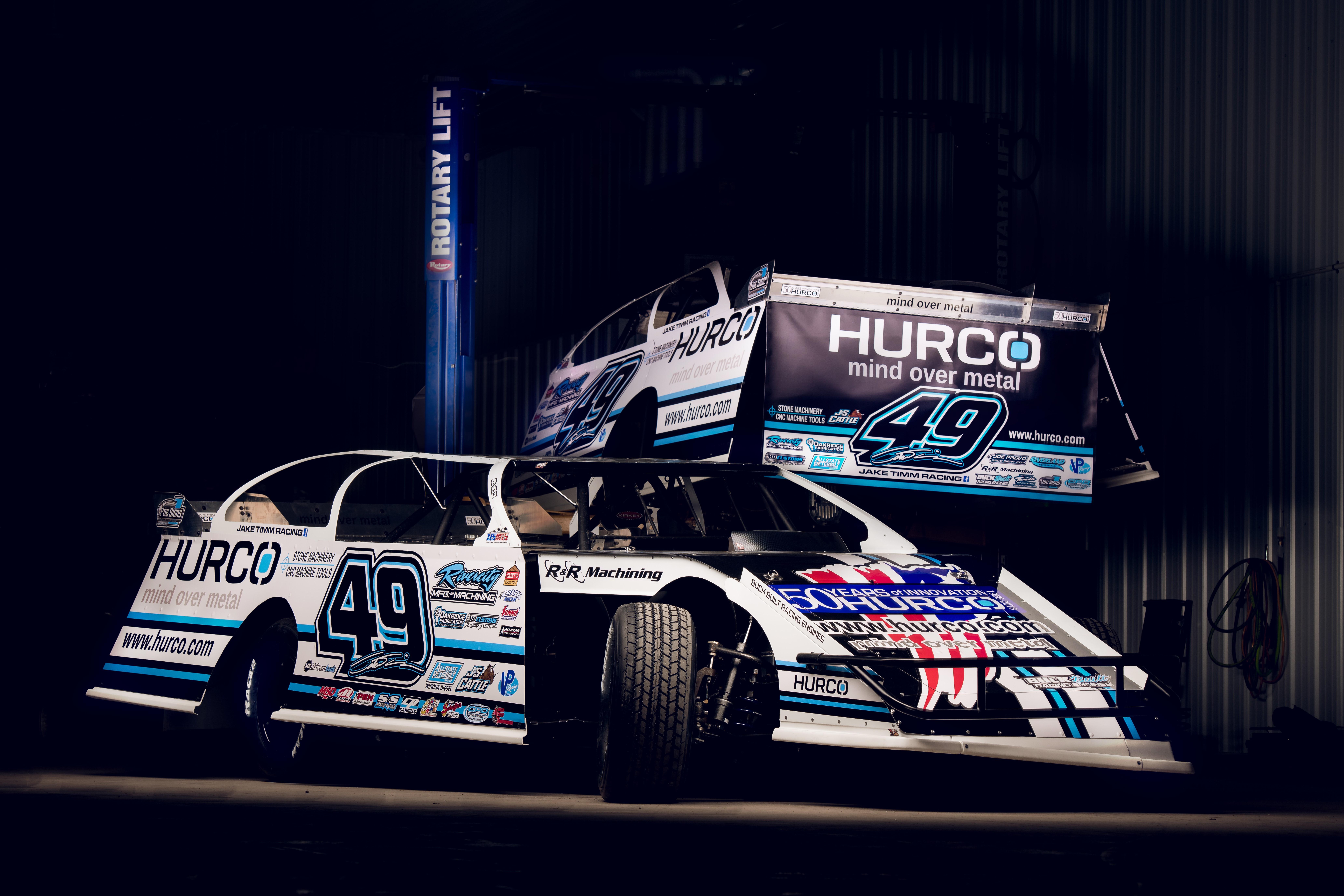 Hurco Sponsors Machinist's Dirt Track Race Team