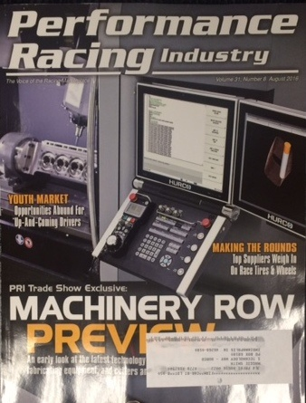 Hurco MAX5 Control featured on magazine cover