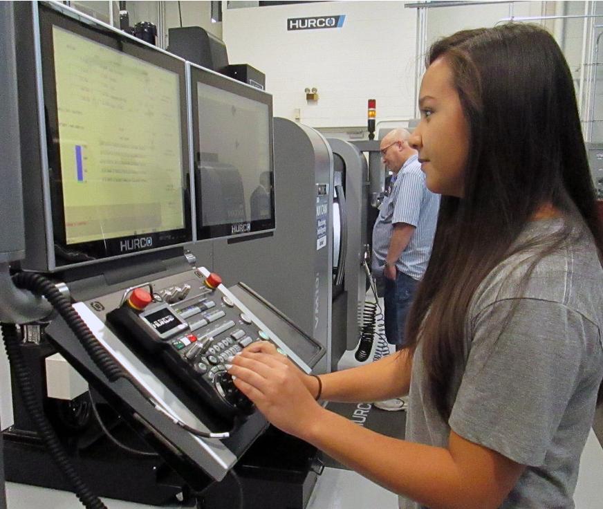 Manufacturing Education: Oakland Community College + Hurco Partnership