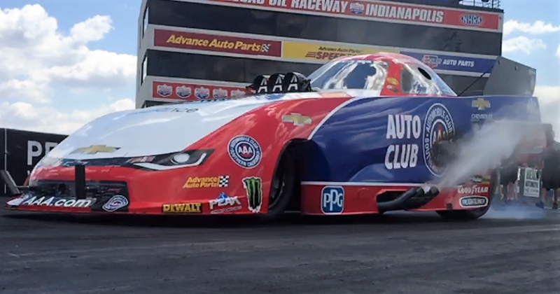John Force Racing completes Indy test ahead of the Big Go