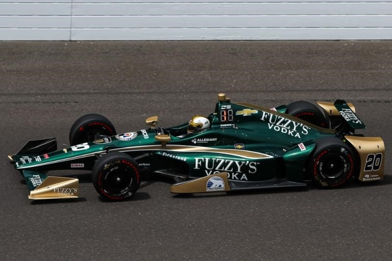TOUGH INDIANAPOLIS 500 LEAVES ED CARPENTER RACING HUNGRY FOR 2018 RACE
