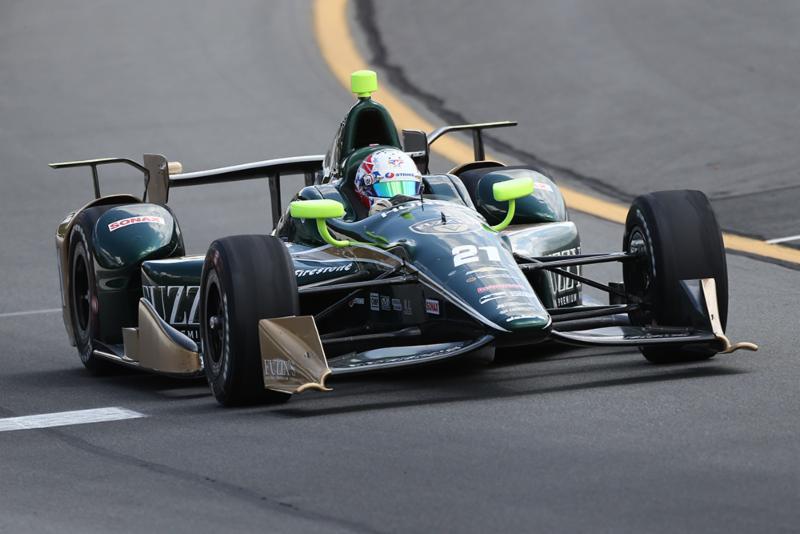 TOP FIVE FINISH FOR JOSEF NEWGARDEN AT POCONO RACEWAY
