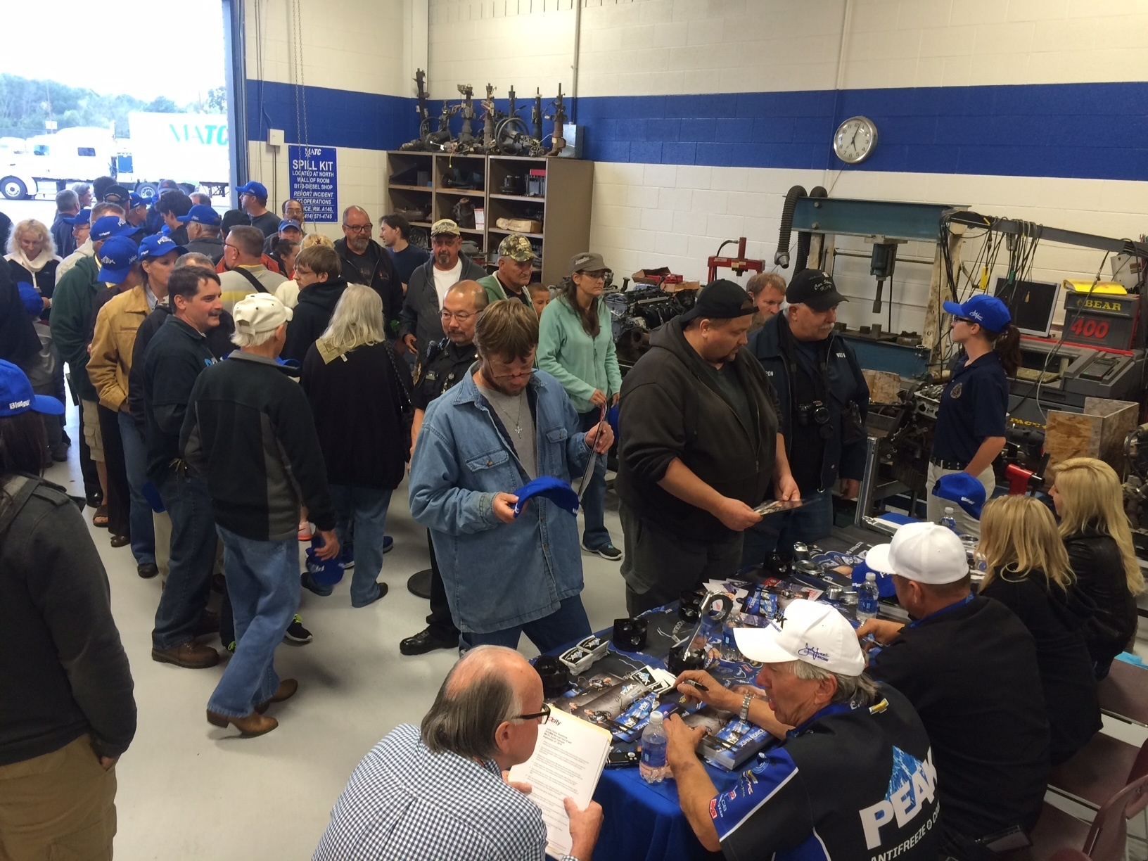 JOHN FORCE RACING ENJOYS DAY OF MOTIVATING AND EDUCATION IN MILWAUKEE