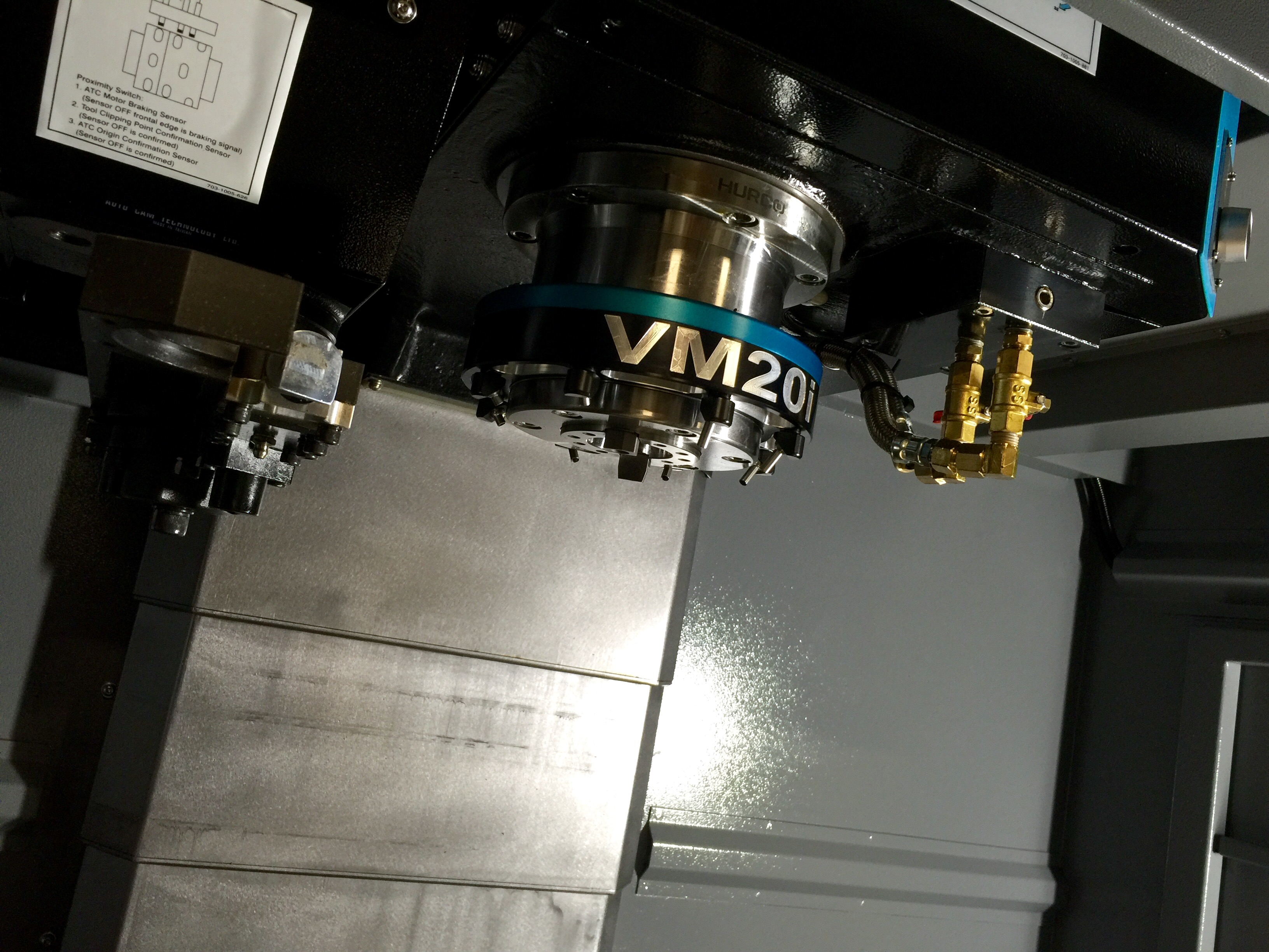 Flood Warning: a Fantastic Aftermarket Coolant ring for Hurco VM Machines