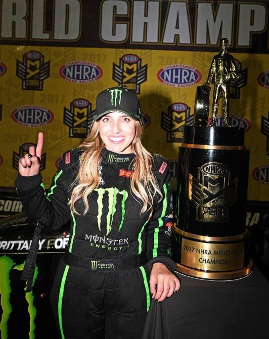 Brittany Force Nominated for the ESPYS Best Driver Award