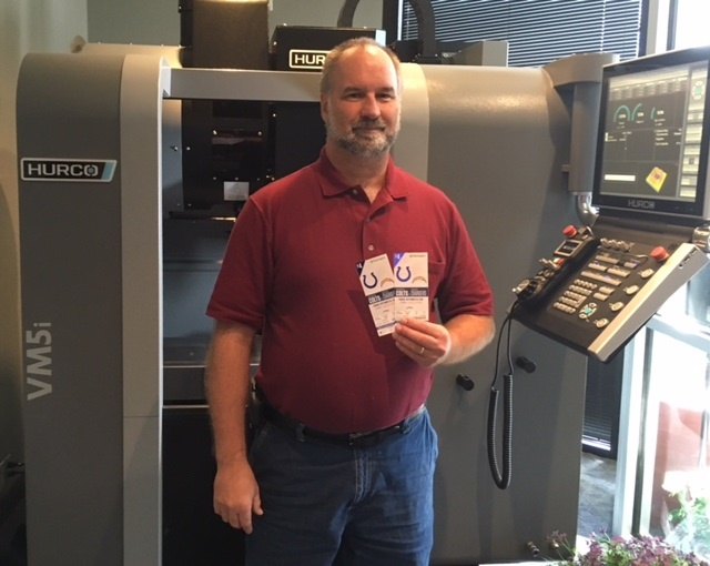 Winner of Colts Tickets is a Machinist for Eli Lilly