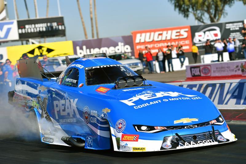 John Force seeks 17th title as NHRA season opens at Pomona