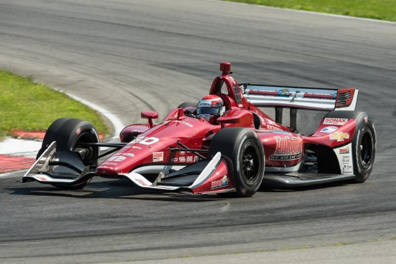 Spencer Pigot Races Up to Seventh at Mid-Ohio Sports Car Course