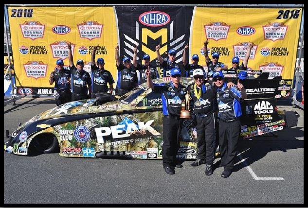 Recap of action in Sonoma from our friends at John Force Racing