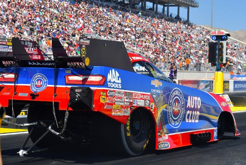 Rare mistake ends Las Vegas race for Auto Club driver Robert Hight