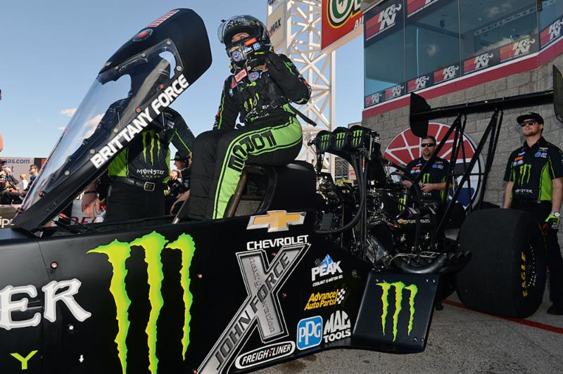 Brittany Force falls in NHRA Nationals quarterfinals