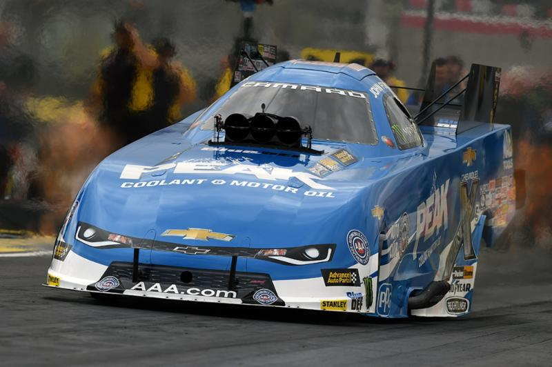 John Force races to semifinals of NHRA Nationals at Las Vegas