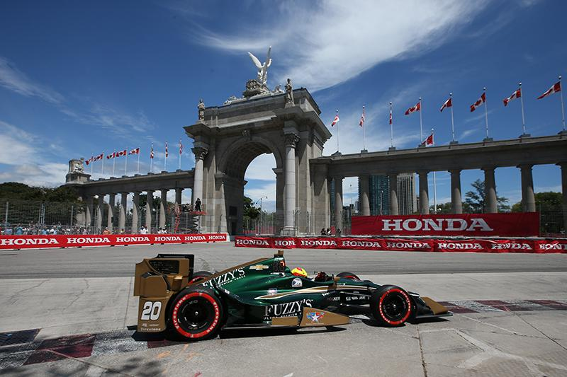 Day of Disappointment for Ed Carpenter Racing in Toronto